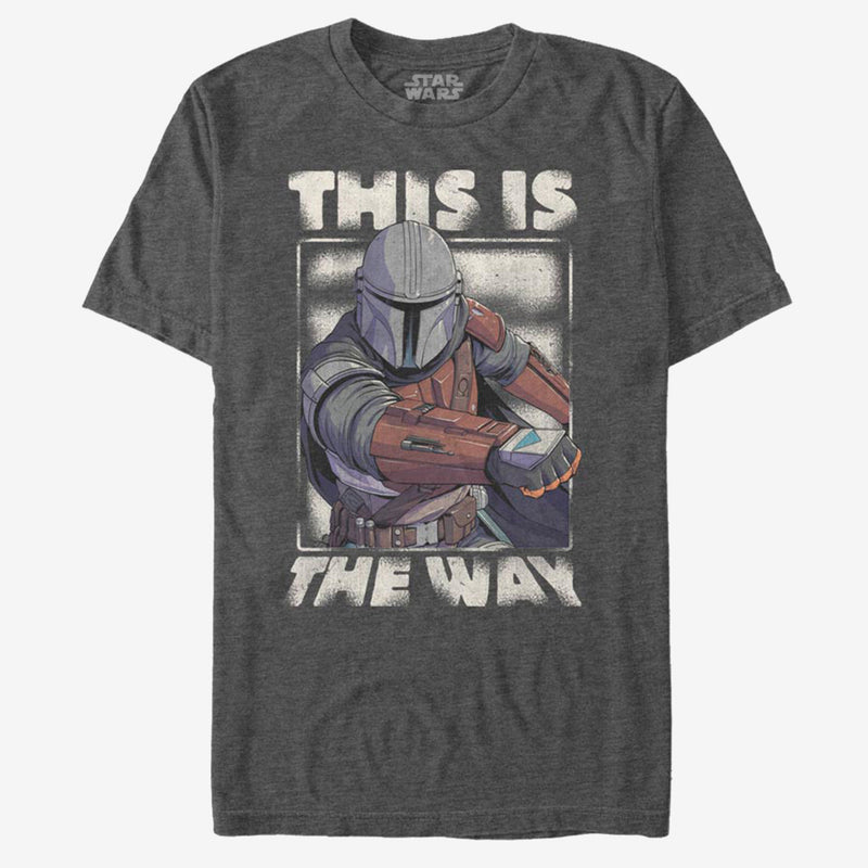 Star Wars The Mandalorian - Camiseta - This is the way - Hombre