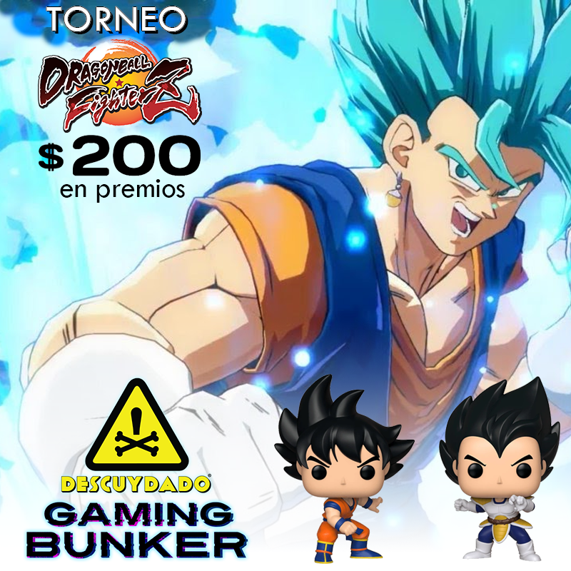 Ticket de Registración  - Torneo Dragon Ball Fighterz - Enero 2020