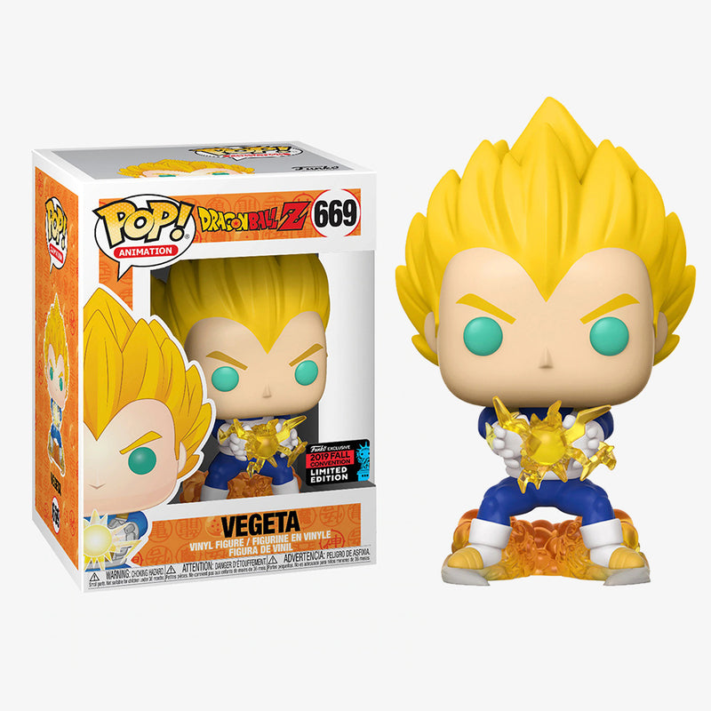 Dragon Ball Z - Funko POP - Vegeta - Edición Limitada - Preorden