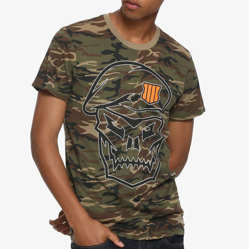 Call Of Duty - Camiseta - Camo - Hombre