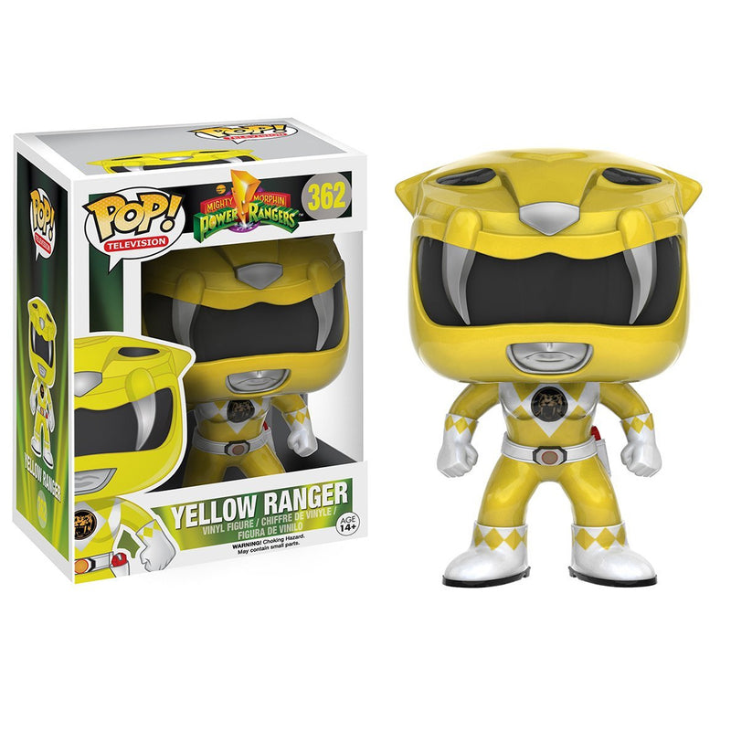 Power Rangers - Funko POP - Yellow Ranger