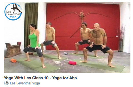 CLASS 10 • Yoga for Abs