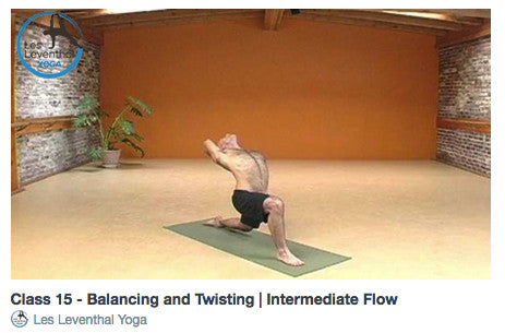 CLASS 15 • Balancing and Twisting | Intermediate Flow