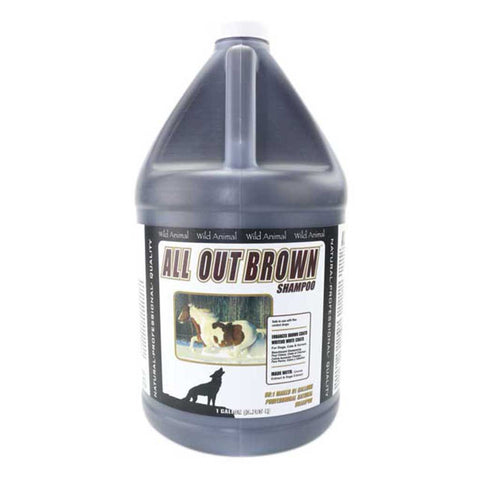 All Out Brown Shampoo (3.785 litres)