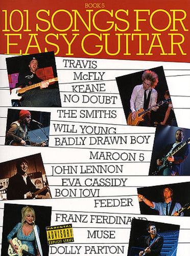101 Songs for Easy Guitar Book Five