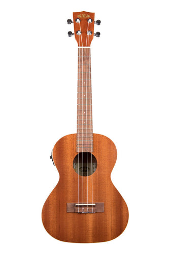 Kala Satin Mahogany Tenor Ukulele - Electric