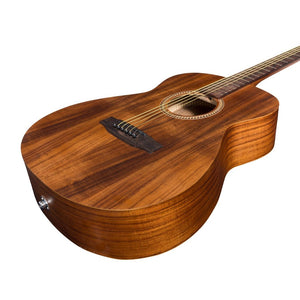 Martinez Koa Acoustic-Electric Small Body Guitar