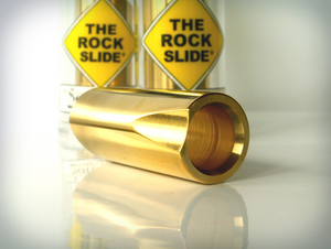 The Rock Slide Polished Brass Slide - Extra Large