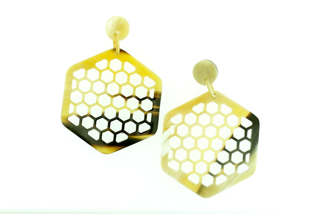Earrings Bee - art-of-shop