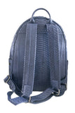 Navy Blue Bernard Python Backpack - art of shop  - 7