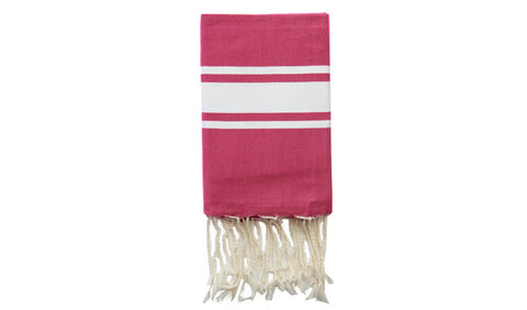 Fouta Traditional – Fushia - art of shop