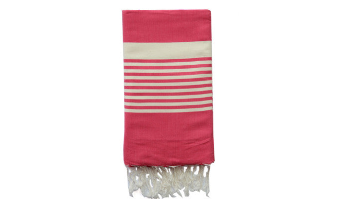 Fouta Traditional – Pink zebra - art of shop