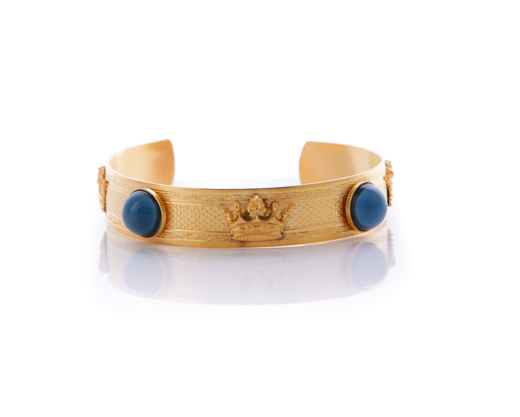 GAIA Gold-Plated Night Blue