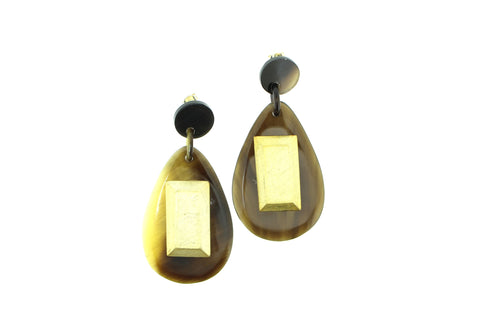 Earrings Gems - art of shop  - 1