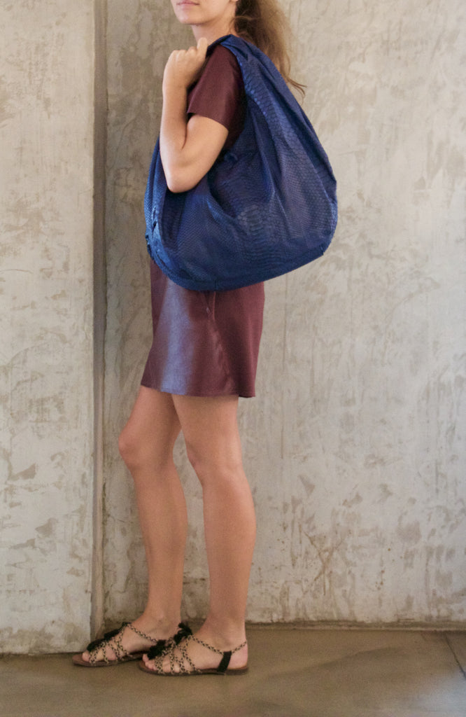 Navy Blue Marceau Bag - art of shop  - 1