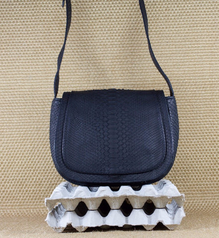 Black Theodore Shoulder Bag - art of shop  - 1