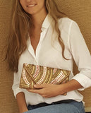 Gold Pearl Clutch - art of shop  - 4