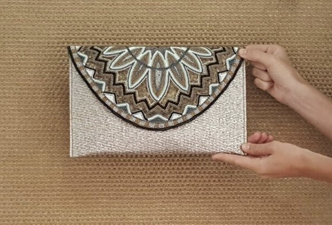 Black Pearl Clutch (Big) - art of shop  - 1
