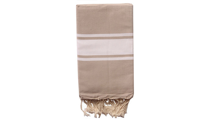 Fouta Traditional – Sand beige - art of shop