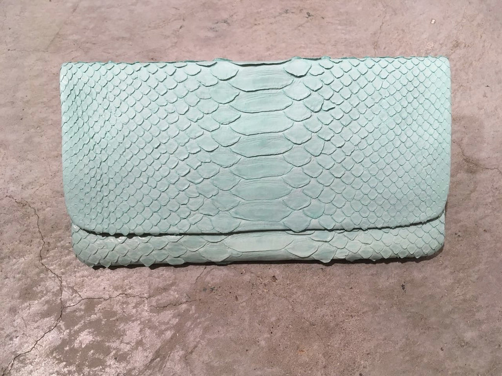 Archibald Leather Wallet Light Light Green