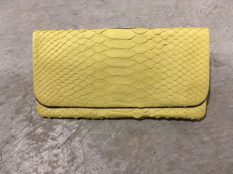 Archibald Leather Wallet Yellow