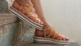 Woven Platfrom Espadrille - art of shop  - 1