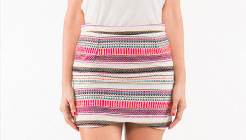 INCA DENTED SKIRT - art of shop  - 1