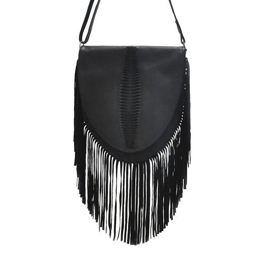 Santana Flap Fringes Bag - art-of-shop