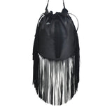 Santana Navajo Fringes Bag - art-of-shop