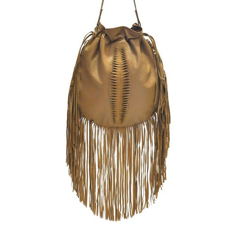 Santana Navajo Fringe Bag - art-of-shop