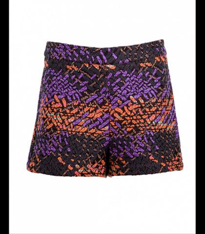 TWIST HIGH WAISTED SHORTS - art of shop