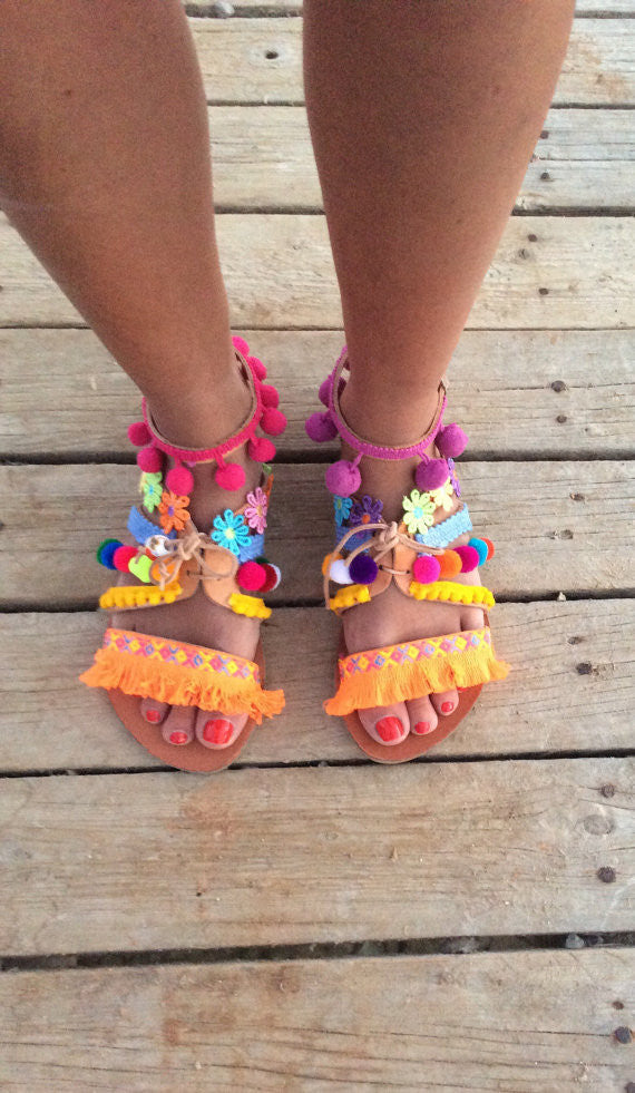 Gipsy sandals