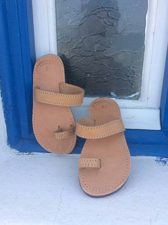 Kids Slip on Greek Sandals