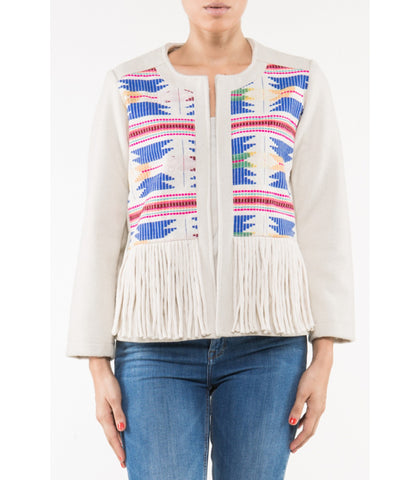 INCA TASSEL JACKET - art of shop  - 1