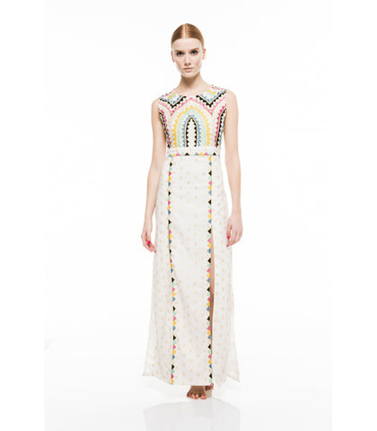 MILA OPEN BACK MAXI DRESS - art of shop  - 1