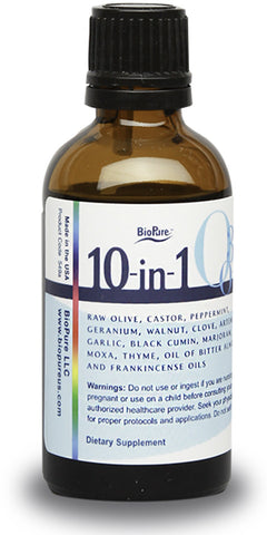 BioPure Ten-in-One O3 Oil 50 ml