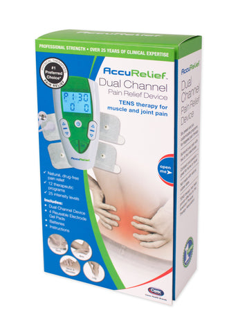 AccuRelief™ Dual Channel TENS