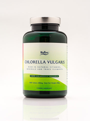 BioPure Chlorella Vulgaris 1000 Tablets