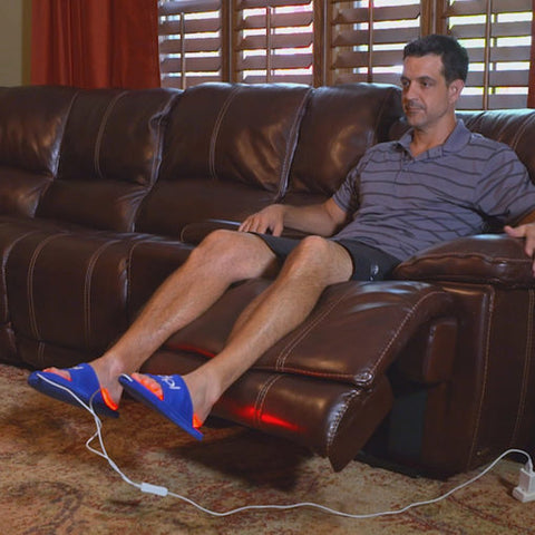 Foot Pain Relief Red& Infrared Light