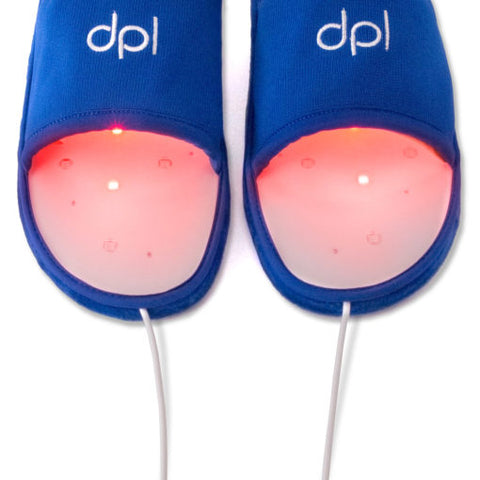 Foot Pain Relief using DPL Red and Infrared Light System