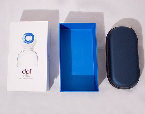 dpl® Oral Care Light Therapy System + Teeth Whitening