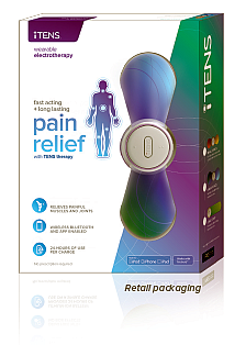 New!  FDA cleared iTENS Pain Relief System