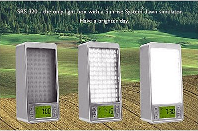 Sunrise SRS320 Dawn Simulator and Light Therapy