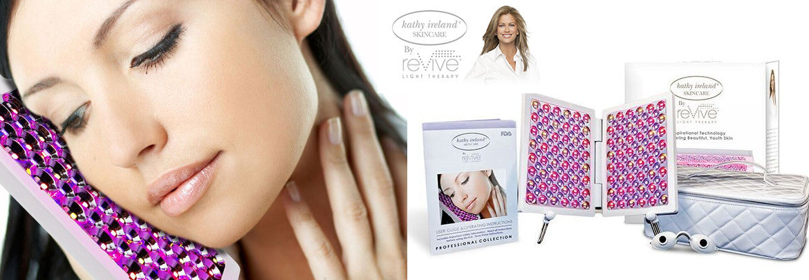 Kathy Ireland reVive Full Face Beauty Light Therapy Panel