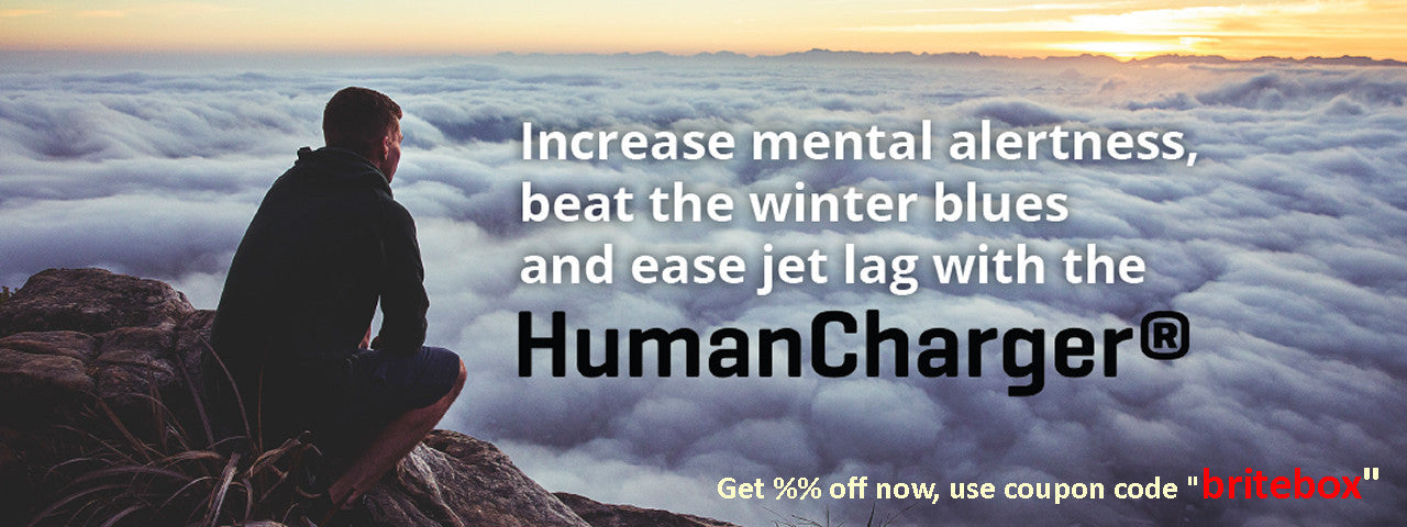 Valkee HumanCharger for the Winter Blues, SAD, mood disorder and jet lag