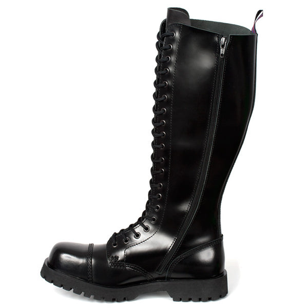NEVERMIND 20-Eye Combat Boots