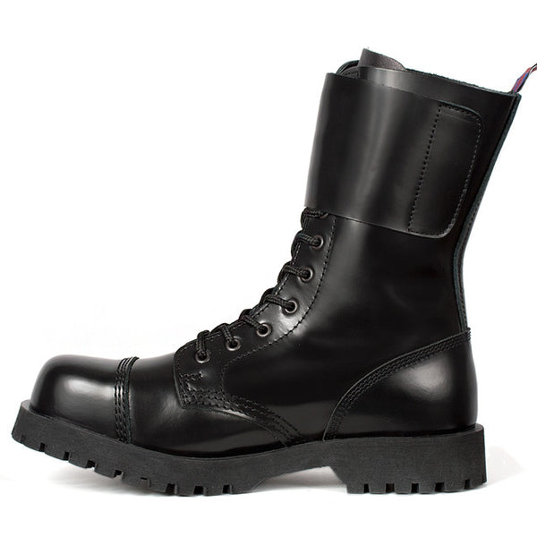 NEVERMIND 10-Eye Combat Boots
