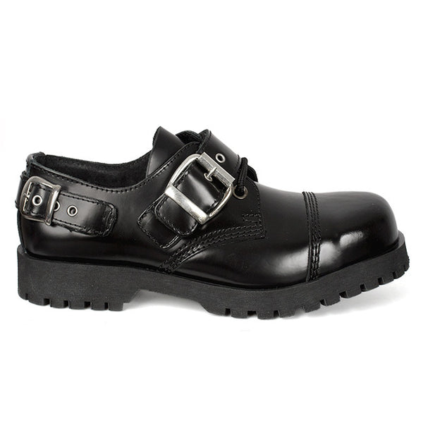 NEVERMIND 3-Eye Oxford Buckle Shoes