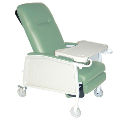 3 Position Geri Chair Recliner, 250 lb Capacity (d574-j) - EZMEDx Medical Supply - 1