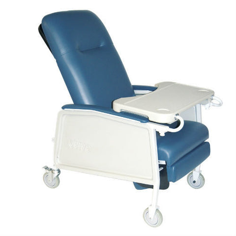3 Position Heavy Duty Bariatric Geri Chair Recliner, 500 lb Capacity - EZMEDx Medical Supply  - 1